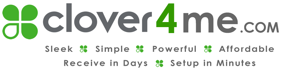 clover4me.com POS System | Run your business with speed, efficiency, and style at an affordable price! | 1-800-717-1245